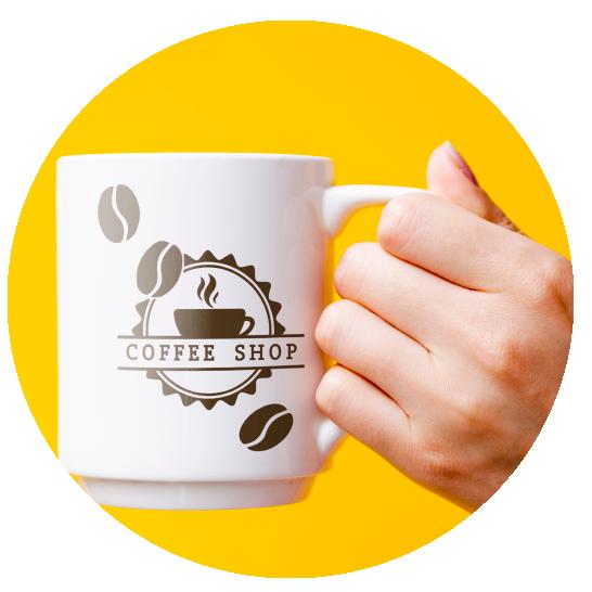 Coffee Shop Branded Mug